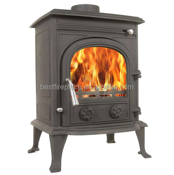 8KW CE EN13240 Wood Heaters, Cast Iron Stoves, Wood Burning Stove