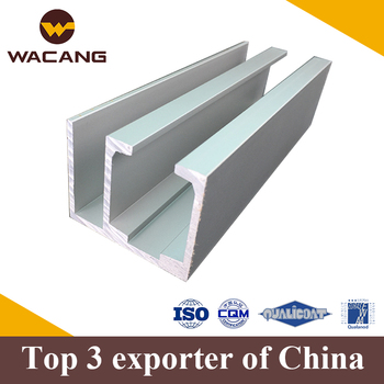 Factory Construction Aluminum Extrusions Profile For Door