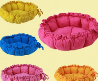 Wholesale Foldable Short Plush Pet Bed Cave, Pet Dog Tiny House, Portable Soft Warm Pet Dog Bedding