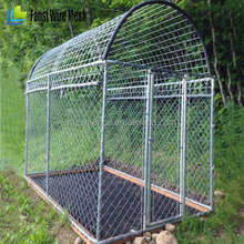 6 Gauge Galvanized Welded Wire Mesh 2''x 4'' Opening dog kennel for sale