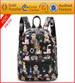 Printed pu leather backpack Small backpack for girl