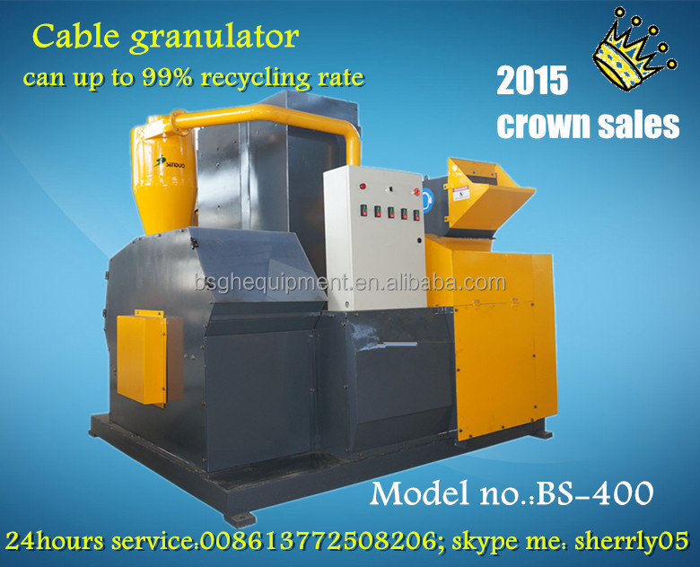 Used Cable Recycling Machine/ Scrap Copper Wire Granulator / Cable ...