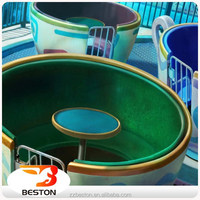 amusement ride most popular in the UK rotating tea/coffee cup ride