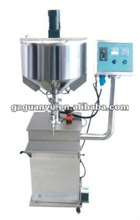 pneumatic champagne filling machine for liquids and paste
