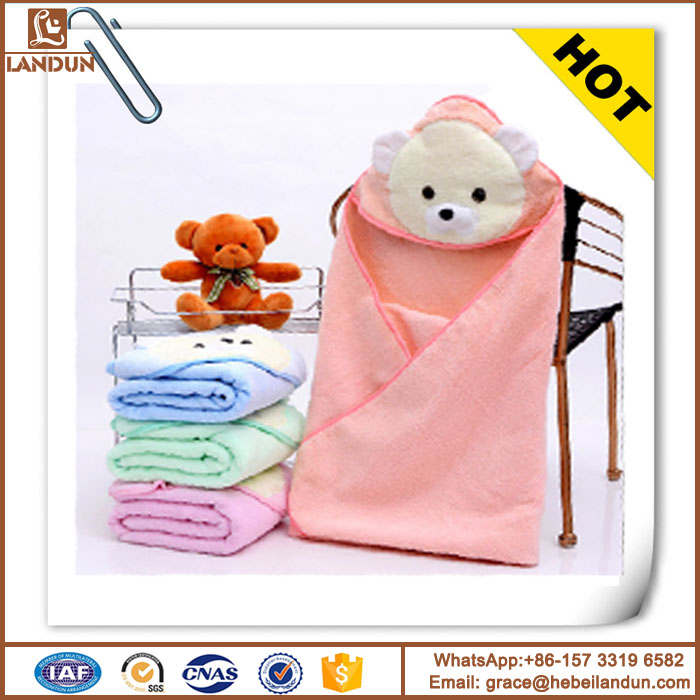Hot sale high quality factory direct supply baby hooded towel
