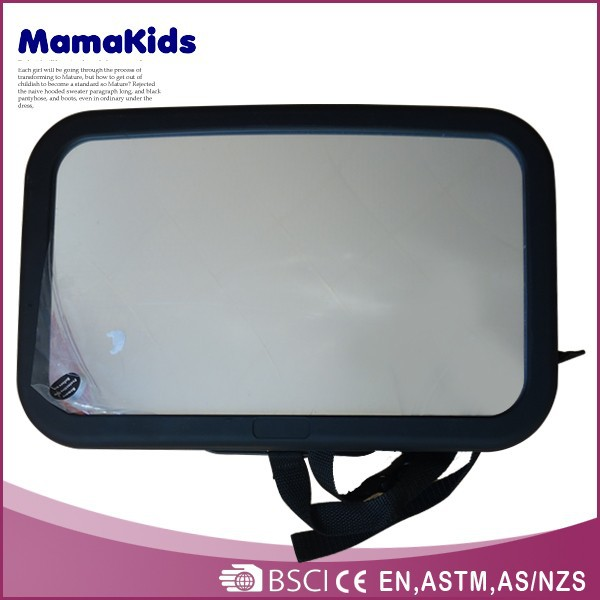 2014 adjustable mirror for kids on car back seat baby mirror