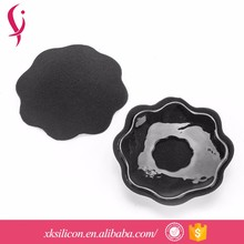 Customized Cheap Women Girl Sexy Beauty Black Adhesive Nipple Cover