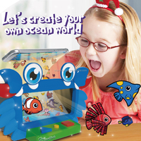 Newest design early learning kit 4D flash cards educational game