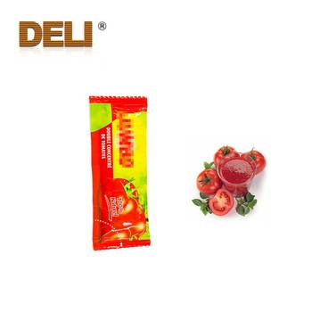 Fresh Tomato Ketchup Packed in 10g Sachet