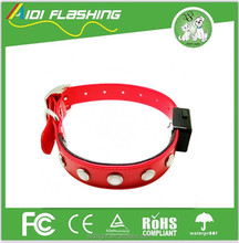 China factory pet accessories collar dog flea collar led