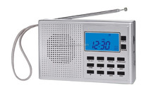 Newest Muitiband world receiver, 400 memory stations 10 SDA daily alert, 5 count down timers,stop watch function