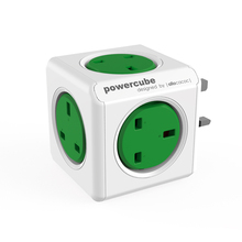 PowerCube |Original| multiplier UK sockets with 5 outlets magic multi-plug sockets reddit winner in2014