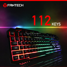 Latest LED backlight USB Port wired Gaming Keyboard for computer keyboard blank laser keyboard membrane