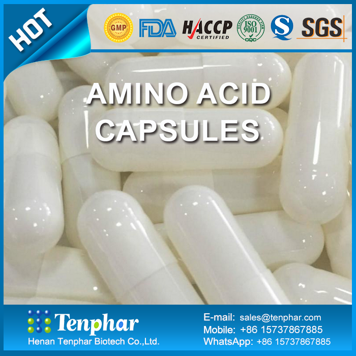 Private Label Amino Acid Hard Capsules Chewable Tablet Pills