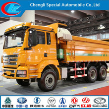 SHACMAN Dump Truck sand carrying wood loading stone transportation steel truck dump Shacman dumper truck end tipper