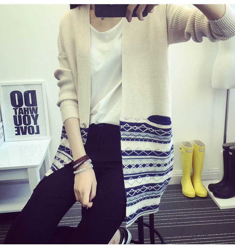 Hottest selling women winter fashion with long sweaters