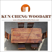 Dining Table Specific Use and Antique Appearance natural acacia wood slab dining tables