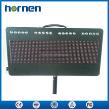 High quality Portable Programmable Wireless Controller LED Traffic Display Sign Board