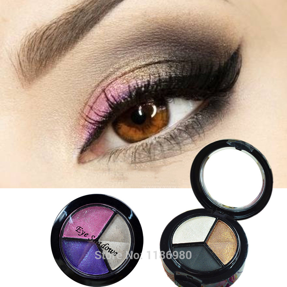 Черные матовые тени макияж