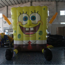 hot sale 2M inflatable Spray painting cartoon