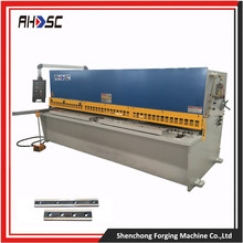 All steel welded structure QC12K series 6*6000mm hydraulic cnc iron sheet cutter with cheap price for sale