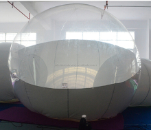 2016 Camping Inflatable Transparent Igloo Bubble Dome Tent