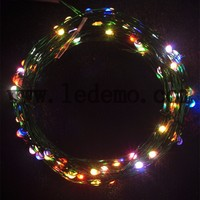 10m 100led Warm White Outdoor Christmas decoration copper wire LED string light