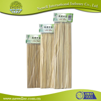 Various bamboo gun shape skewer on sale