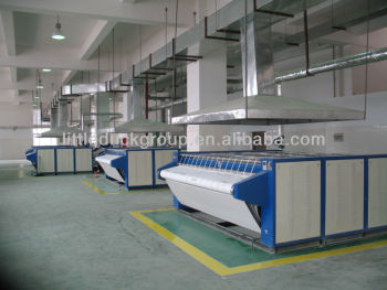 Automatic Laundry Ironing machine with LPG GAS heating