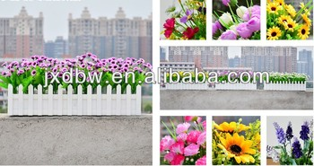 Decorative Small Wood Fencing Wood Garden Fence
