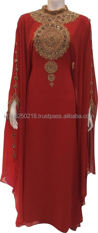 2015 abaya jilbab dubai kaftan dress wholesale with sequins muslim islamic clothing for moroccan india Turkey arab women k8574