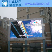 LAMP P12 outdoor billboard advertising 2013 xxx new images led display