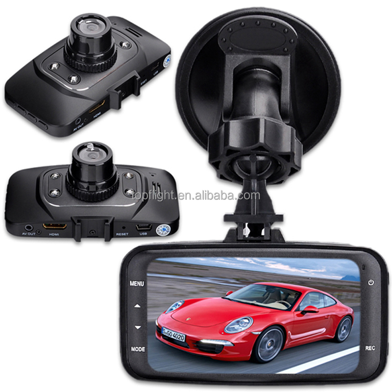 2.7 inch lcd screen hd <strong>1080p</strong> motion detection <strong>g</strong>-sensor loop record dvr user manual gs8000 car dvrs