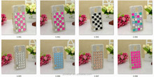High quality diamond crystal transparent hard case for Samsung Galaxy S5 i9600