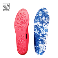 Winter Warm Bluetooth Controlled Electric Heated Insoles Size Customized Shoes Insole