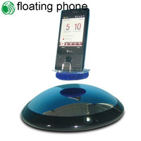 High-tech rotating 360 degree semicircle base max load 300g floating for ipad display stand