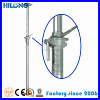 scaffolding adjustable jack leg for formwork support