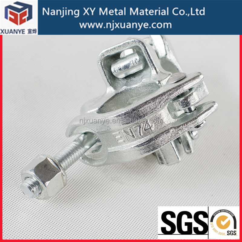 BS1139 galvanized fixed Scaffold joint clamp