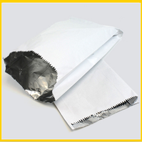 Plain Aluminum Foil Lined Paper Bag for Hot Chicken Takeaway