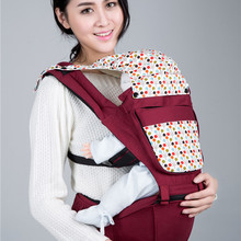 2015 Cotton Good Quality Mother Care Baby Bag Pure Cotton Material Infant Stool Backpacks Hot Sell Baby Carrier