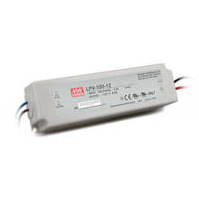 Meanwell 100W 12V Single Output LED Driver With IP67 Lpv-100-12