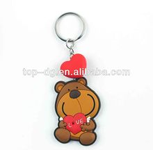 2013 Hot Selling,New Design,Customized,pvc promotion key chain,key chain making machine