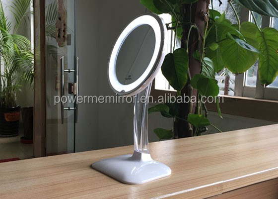 LED Table Makeup mirror, Make up mirror with light, desktop lighted makeup mirror