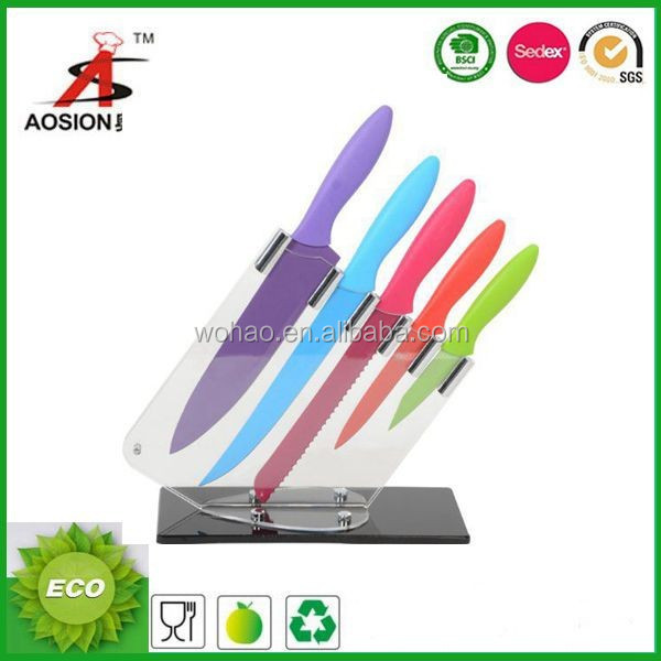 new product 6pcs ceramic knife