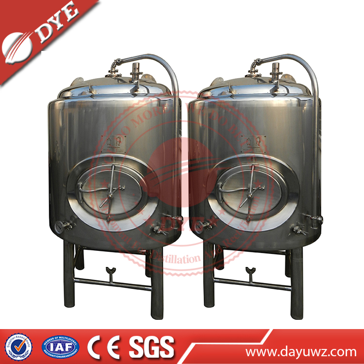 1000L Stainless Steel 304 Beer Bright Tank wine barrels for wine brewing