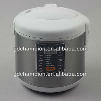 duble non stick coated inner pot oval rice cooker