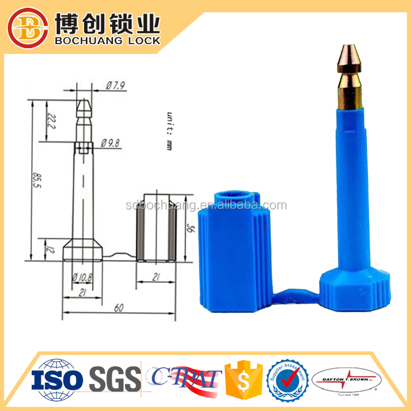 Container Bolt Security Seal Compliant Tamper Resistant Container Lock Seal electronic container seal