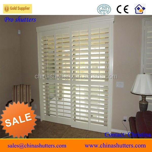2015 (CE) retractable screen doors louver shutters