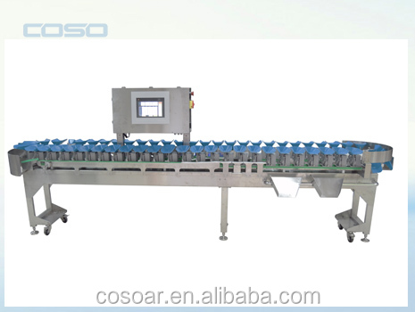 High Sensitivity Weight Sorting Machine for Seafood Weight Checking