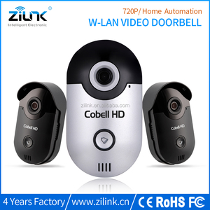 Best 3g 4g wifi video doorbell, Smart home security New P2P ip video door phone